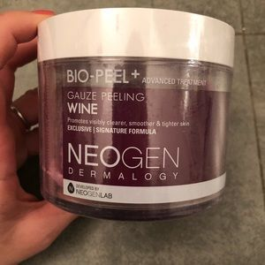 Bio-peel gauze peeling wine